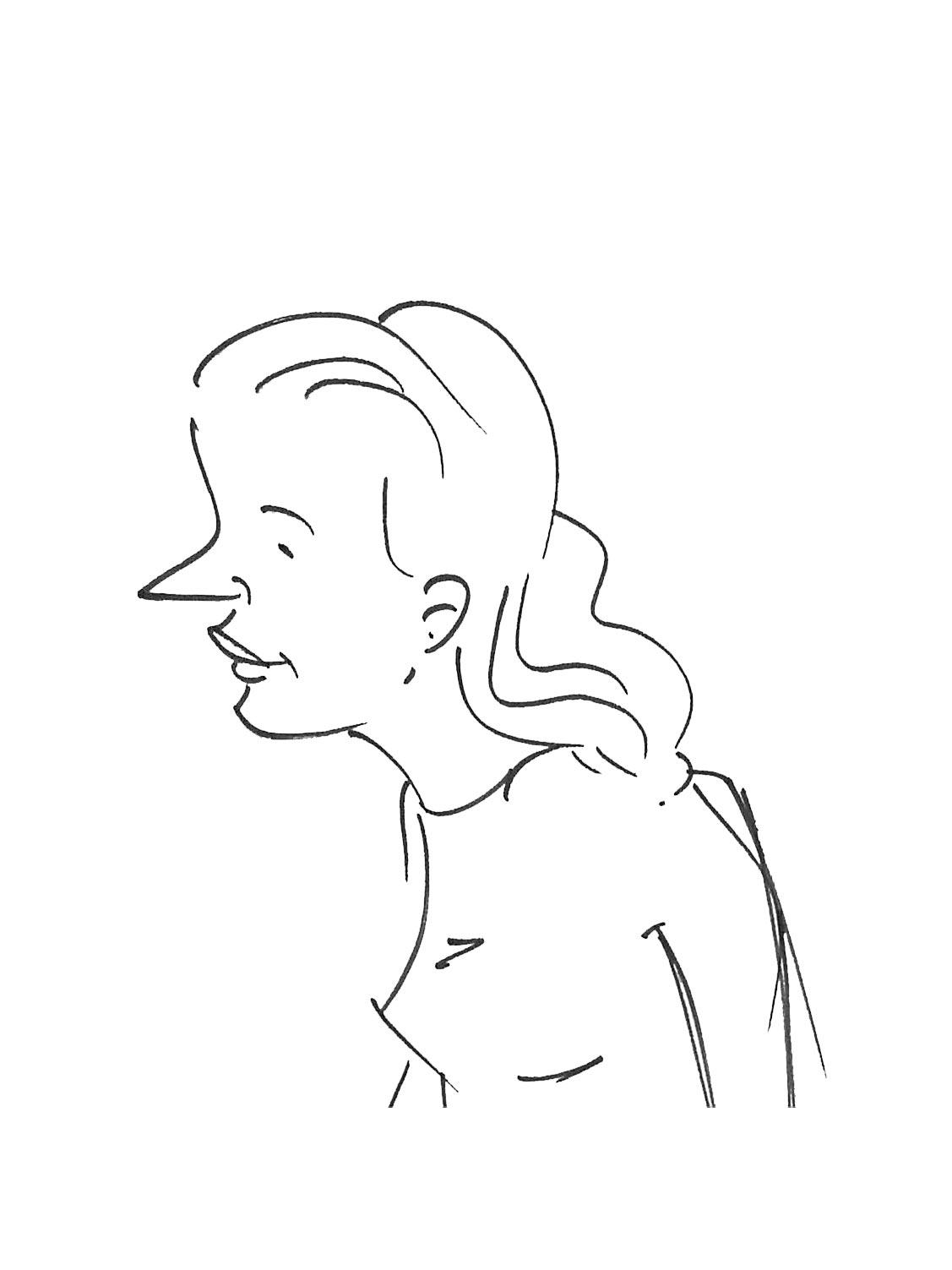 Sketch of a designer