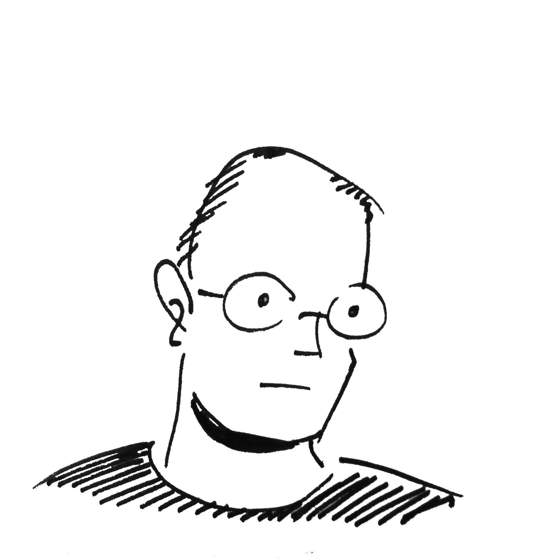 Alfredo Fajardo sketch of Eric