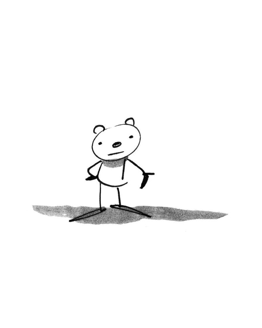 Alfredo Fajardo sketch of a bear