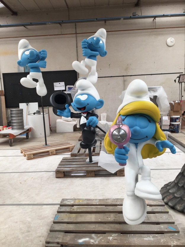 Figures in production
