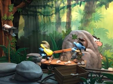 The Jungle Set scene