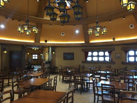 Very Smurfy Cafe interior